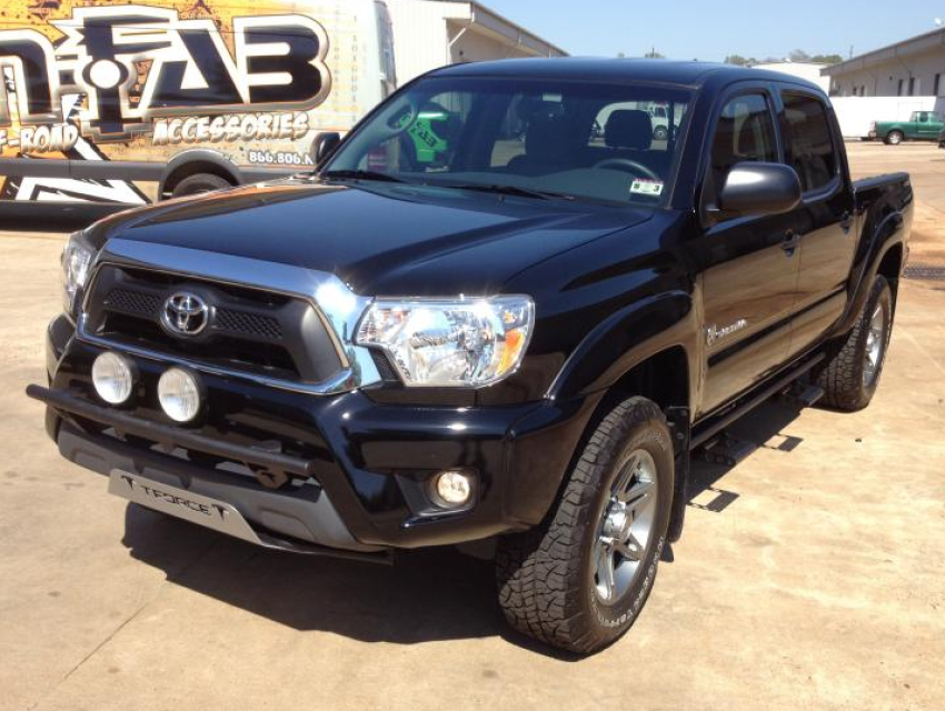 N Fab Light Bar For 2012 2015 Tacoma