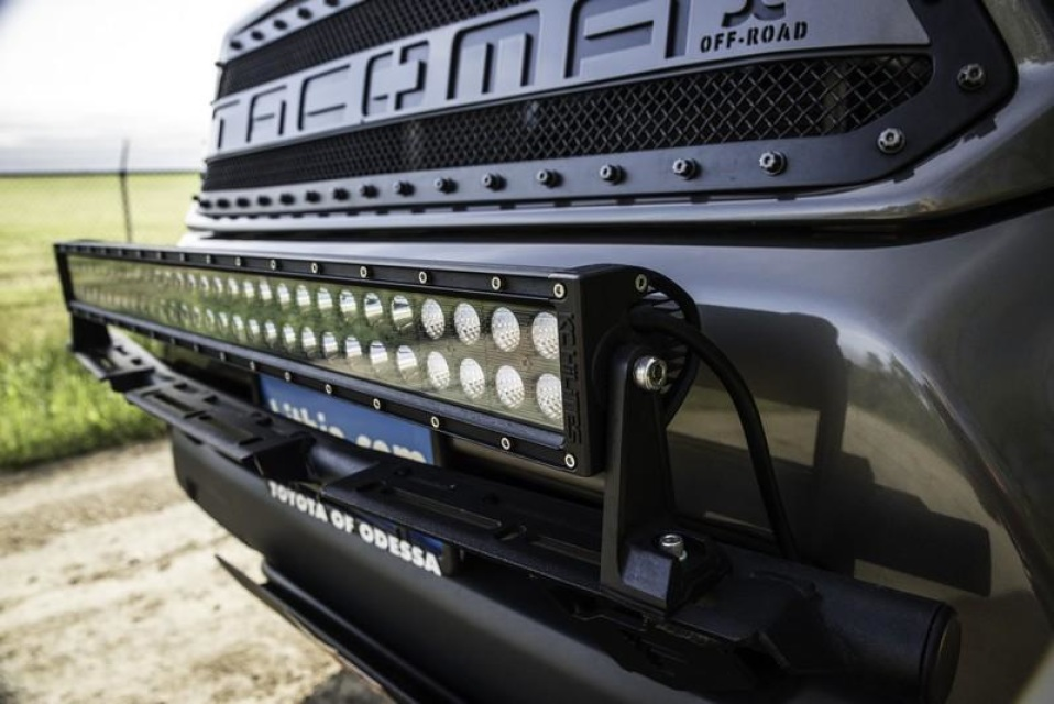 N Fab Light Bar With Multi Mounts For Led Lights For 2012 Current Tacoma