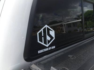 HeadStrong Off-Road Decals Stickers Swag apparel