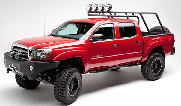 Body Armor 4x4 Roof Rack W Bed Mounting Kit