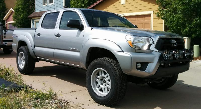 N fab light bar for 2012 2015 tacoma mozeypictures Images
